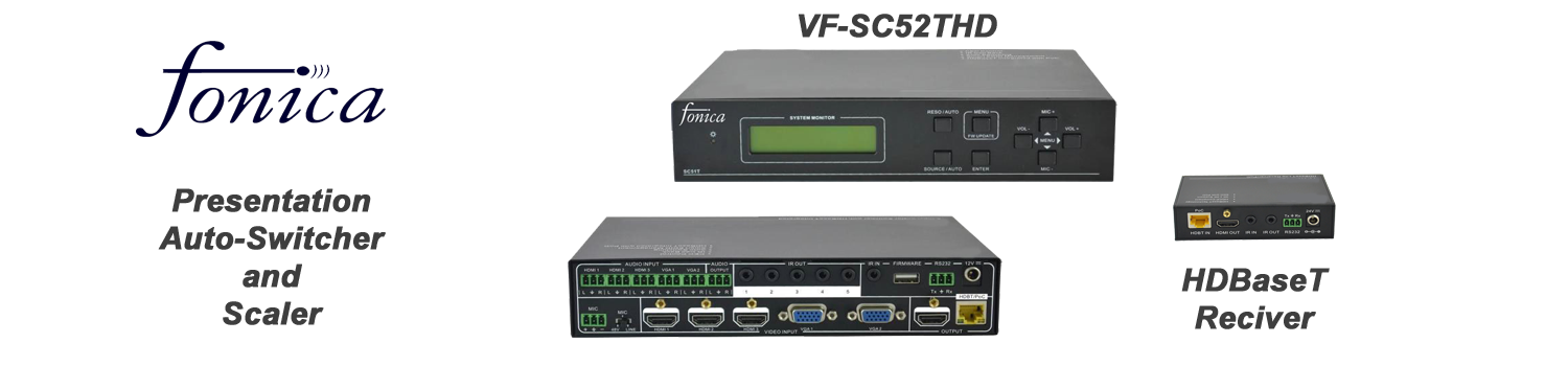 VF-SC52THD Presentation Switcher