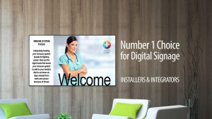 Number 1 Choice for Digital Signage
